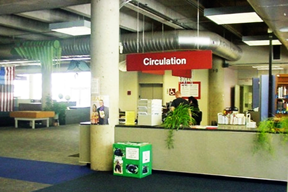 Auraria Library: What Circulation looked like before
