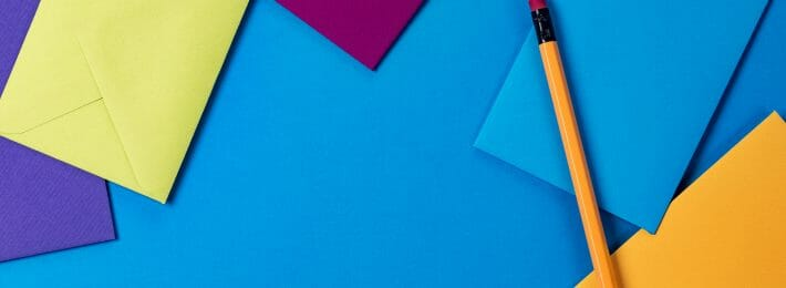 Giving Recognition Societies - Image of Colored Envelopes