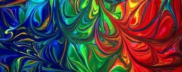 Embracing Confusion and Creativity - Image of a Vivid Painting