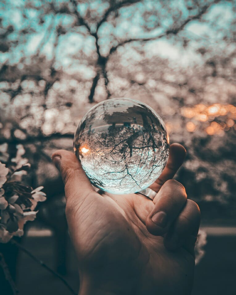 How Leaaders Can Plan for the Future in Higher Ed - Image of a Crystal Ball