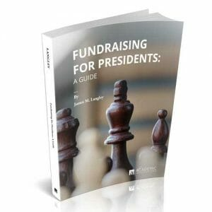 Cover: James Langley's Fundraising for Presidents (Book)