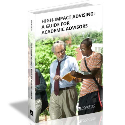 High-Impact Academic Advising: Cover