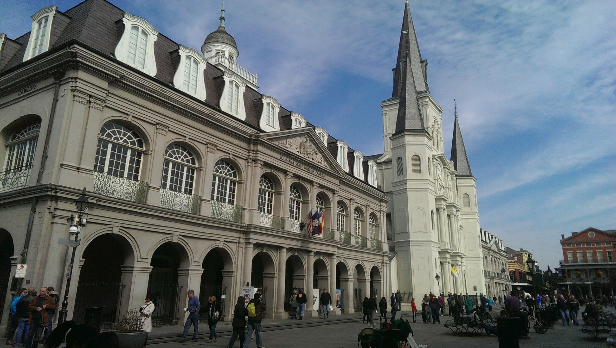 College campus in New Orleans