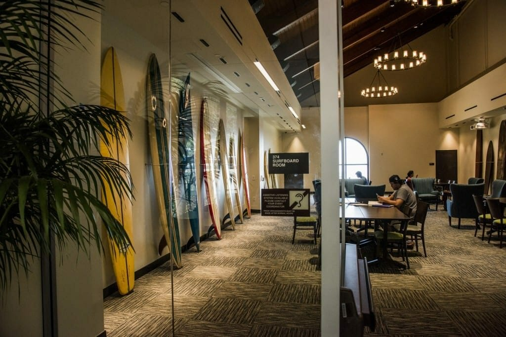 Payson Library Surfboard Room