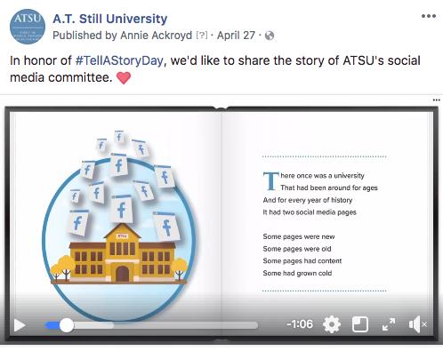 Social Media Strategy: ATSU Example