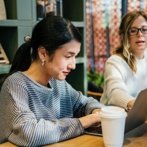Women's Leadership: Women Meeting in an Academic Library