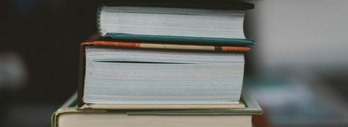 Support Adjunct Faculty - Photo of Textbooks