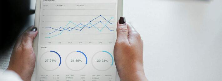 Student Data: Man looking at a chart