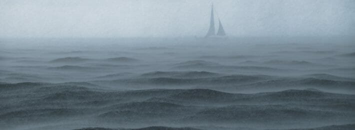 How is Higher Education Changing? Metaphor - Image of a Ship in Foggy Water