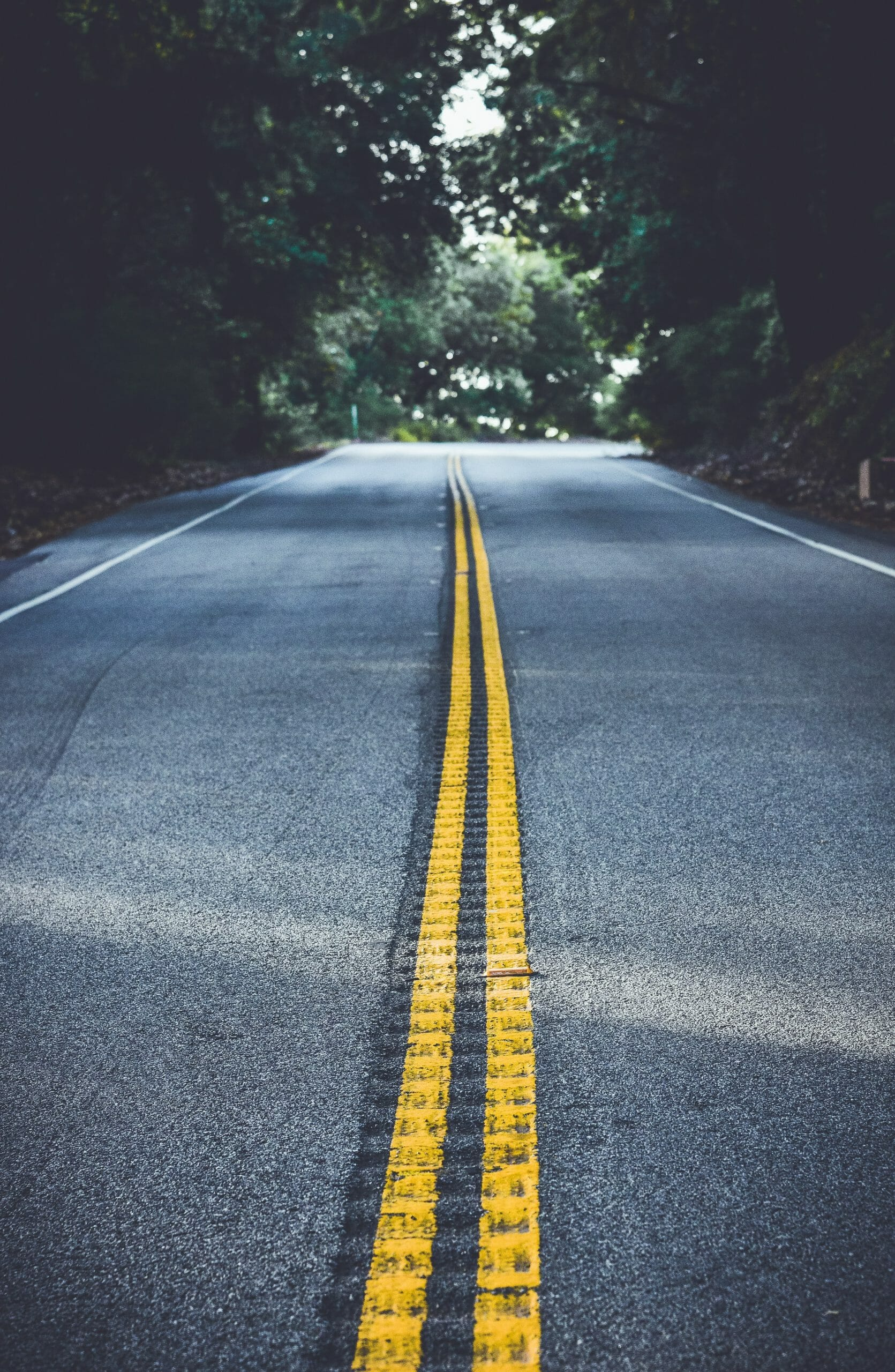 Major Gift Officer Training and Onboarding - Photo of an Open Highway and Long Road Ahead
