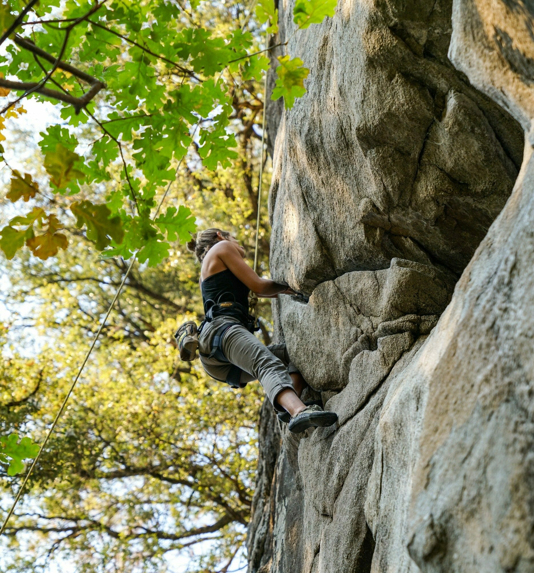 Risk Taking Women Leaders - Photo of a Woman Mountain Climbing