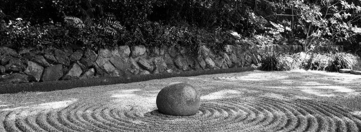 Chief of Staff - Finding Balance - Image of a Zen Garden