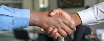 Chief of Staff - Image of a handshake