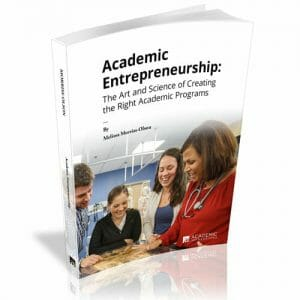 Academic Entrepreneurship Book Cover