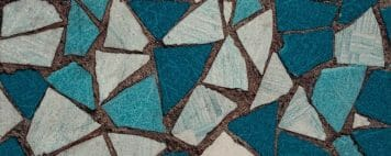 Image of a detail of a mosaic