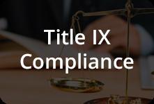 Title IX Compliance Button