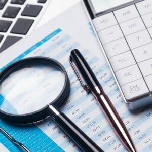 Auditing finances