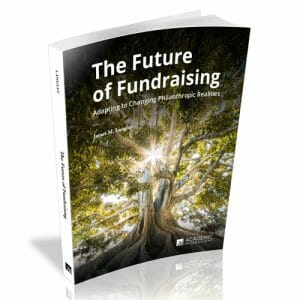 Book Cover: The Future of Fundraising by Jim Langley