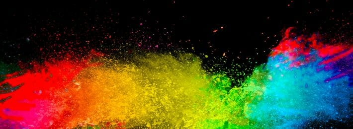 Abstract color explosion