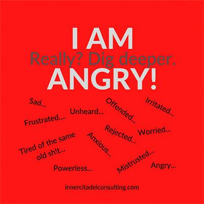 I am angry image