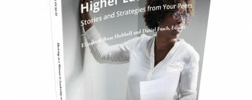 Thriving as a Woman in Leadership in Higher Education Book Image