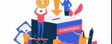 Fundraising illustration